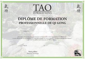 Diplôme Formation QG TAO